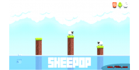 Html5 sheepop mobile game