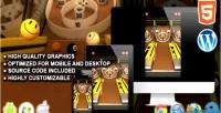 Html5 skeeball skill game