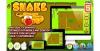 Html5 snake game