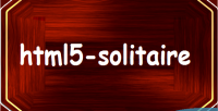 Html5 solitaire game