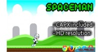 Html5 spaceman capx game