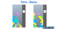 Html5 tetris game