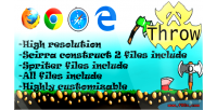 Html5 throw games spriter with