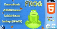 Html5 trezefrog casual game