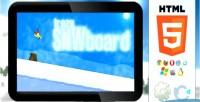 Html5 trezesnwboard action game