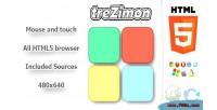 Html5 trezimon memory game