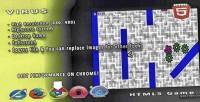 Html5 virus game