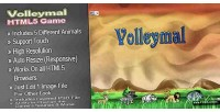Html5 volleymal sport games