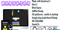 Html5 wordator word ready admob game