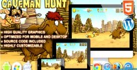 Hunt caveman game launch html5