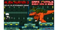 Hunter alien platformer 2