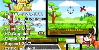 Hunter duck html5 game version mobile construct capx 2