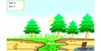 Hurdles tiger game html5