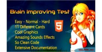 Improving brain game html5 test