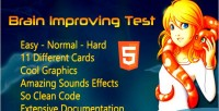 Improving brain game html5 test