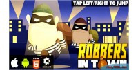 In robbers town html5 capx game