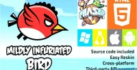 Infuriated mildly bird phaser game html5