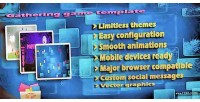 Items gathering game tweenmax jquery template