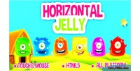 Jelly horizontal html5 game