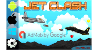 Jet clash html5 game admob construct capx 2
