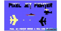 Jet pixel fighter