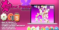Jigsaw puzzle girls edition html5 skill game admob capx 2 construct
