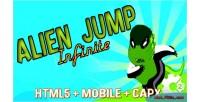 Jump alien run capx infinite