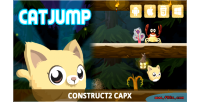 Jump cat html5 capx game