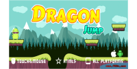 Jump dragon game mobile html5