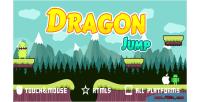 Jump dragon game mobile html5