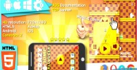 Jump halloween html5 game construct2 capx admob banner top jump