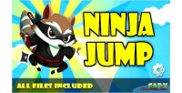 Jump ninja html game capx