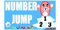 Jump number html5 game