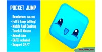 Jump pocket html5 game version mobile construct capx 2