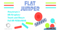 Jumper flat html5 construct3 game
