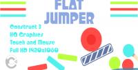 Jumper flat html5 construct3 game