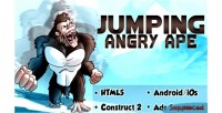 Jumping angry ape html5 capx android
