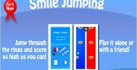 Jumping smile