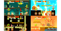 Kid vs zombies html5 construct 2 capx game kid