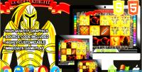 Knight golden game casino html5