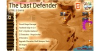 Last the game html5 defender