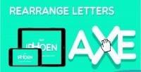 Letters rearrange