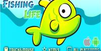 Life fishing html5 game