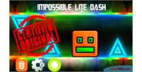 Lite impossible dash mobile html5 capx game
