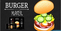 Maker burger html5 game