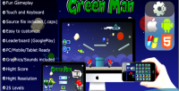 Man green physics game mobile capx html5 and