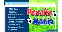 Mania penalty html5 game