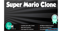 Mario super clone leaderboard with platformer