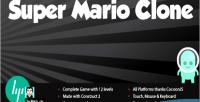 Mario super clone leaderboard with platformer