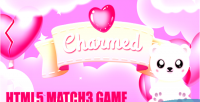 Match charmed 3 valentine mini game